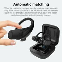Bluetooth Headset 5.0 TWS Wireless Earphones Earbuds Headphones Ear Hook IPX7