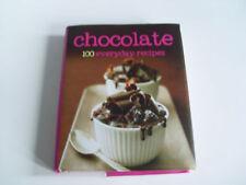 Chocolate – 100 Everyday Recipes – Hardback – Brand New Condition - FREEPOST