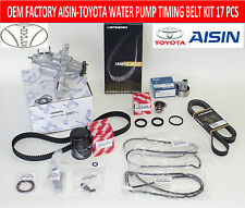 NEW LEXUS IS300 GS300 FACTORY OEM COMPLETE TIMING BELT WATER PUMP TUNE UP KIT