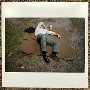 Joel Meyerowitz Magnum Square Original Colour Print Signed 'Man Asleep 1965' New