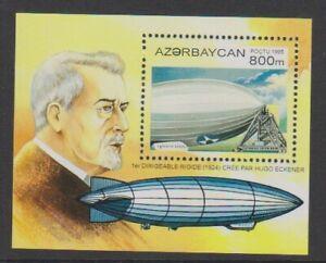 Aserbaidschan - 1995,History Of Luftschiffe,Hugo Eckener Blatt - MNH - Sg MS255
