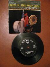 """MARCE DI JOHN PHILIP SOUSA - Morton Gould & orchestra- 7"""" / 33 rpm - Rca  Victor"""