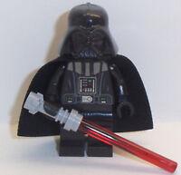 Lego Darth Vader Minifig x 1 & Lightsaber Star Wars Minifigure