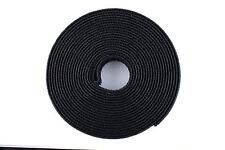 Hook and Loop Reel- 1 inch- 25 Yard 80 Feet Black