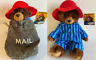"PADDINGTON BEAR SOFT TOY - TWO TO CHOO0SE FROM - 8"" (MAIL BAG) 11"" (PYJAMAS) NEW"