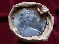Australia.. 1966 10 Cent Mint Roll..  (40 coins) UNC/BU - In RAM wrapper..
