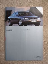 Audi A6 and S6 brochure - 1994 - 64 pages