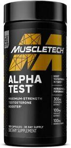 MuscleTech Pro Series Alpha Test 120 Caps Rapid & Massive Testosterone Booster