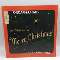 Robert Rheims Choraliers We Wish You A Merry Christmas (Mistletoe MLP-1220) LP
