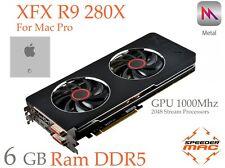 RARE  R9 280X for Apple Mac Pro, 6GB Ram ,4k, 5 Gt/s, Metal/Mojave/Catalina