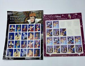 Disney Stamps Villains (full sheet) Romance (15 stamps)