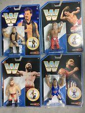 WWE Mattel COMPLETE SET Retro Figure Series 7 Michaels/Angle/Sheamus/Jericho