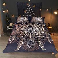 3D Lotus Flower 631 Bed Pillowcases Quilt Duvet Cover Set Single Queen King AU
