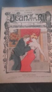 Revista Jean Que Rit N º 359 1907 Journal Demuestra que Aparecen El Viernes ABE