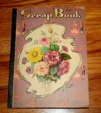 VTG Scrapbook of GREETING CARDS VICTORIAN USED