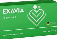 Exavia Mann - L-Arginin, L-Citrullin, Maca Pulver, Gelatine, Traubenkern Extrakt