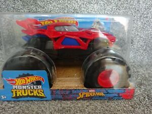 HOT WHEELS MONSTER TRUCK 1/24 SCALE SPIDERMAN NEW**