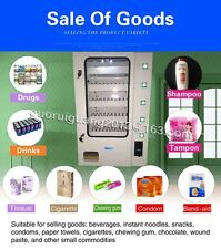 candy vending machine,paper dispenser machine with coin acceptor,5 lines product