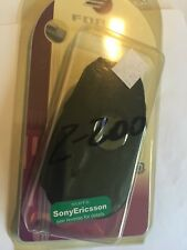 Sony Ericsson Z200 Flip Leather Case with Steel Belt Clip Brand New in packaging