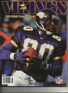 Minnesota Vikings 1999 Yearbook, Never opened, Mint, Cris Carter cover 184 pages