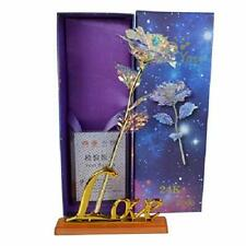 GiftsValentine's Day LY EMMET Colorful Rose Artificial Gold Roses Flower Unique
