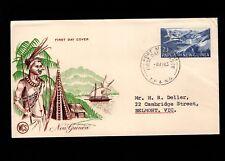 Papua & New Guinea Port Moresby 1st Day 1963 Island Scene 2/+3  Cover 5l