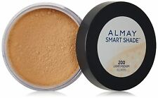 Almay Smart Shade Loose Finishing Powder, Light MEDIUM 200 SEALED FRESH