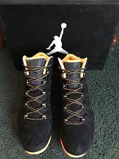 ade16237c2a633 NIKE Jordan Melo M10 Black w  Atomic Mango Basketball Shoes Mens 10.5 NEW