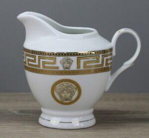 Da Vinci Collection Medusa Gold Milchkännchen Sahnekännchen Sahnegießer wie neu