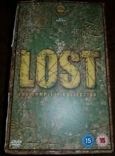 LOST the complete collection seasons 1-6 series UK REGION 2 DVD Box Set