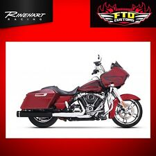 "Rinehart Motopro 4.5"" Sip-On Black Mufflers for Harley Touring 95-'16 500-0109"