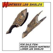 Phicen/TBLeague Hot Demon Huntress Leg/Shin Guards for 1/6 12 in scale Toys
