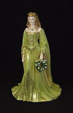 Royal Worcester Figurine - Golden Girl of the May - Made in England.