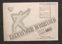 Moda Catalogo illustrato Listino N. 13 - Manifattura di Bartolo - Divise - 1938
