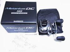 2015 Shimano Metanium DC HG Left Handle Baitcasting Reel Made In Japan VG W/Box