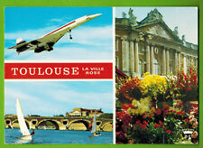 CARTE POSTALE--AVIATION--TOULOUSE--LA VILLE ROSE--CONCORDE