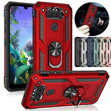 For LG Phoenix 5/4/Aristo 5/5+/2/3 Plus/Fortune 2/Rebel 4 Ring Stand Case Cover