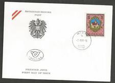 AUSTRIA - 1988 The 1100th Anniversary of Feldkirchen  - F.D.COVER