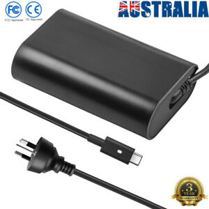 USB-C Laptop Charger 65W Type C for Dell XPS 12 9250 13 9350 Latitude 12 13 7370