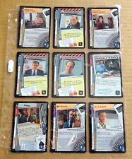 THE X-FILES PREMIERE EDITION CCG/TCG SLEEVE OF 9 x UNCOMMON CARDS  NEW/1996  (C)