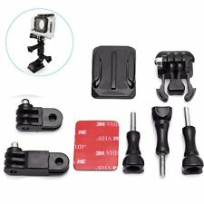 Adjustable Helmet Curved Side Adhesive Mount for GoPro Hero 4 3+ 3 2 1 Camera
