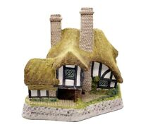 "Vintage David Winter Cottages Signed 1991 Moonlight Haven Britain 5.9""H  5.5""W"