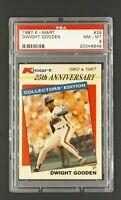 1987 K-Mart #26 Dwight Doc Gooden New York Mets KMart PSA 8 NM-MT Only 10 Higher