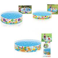 Kids Children Garden Snapset 4 FT 5 FT 6 FT Paddling Rigid Swimming Pool Party
