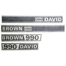 CASE DAVID BROWN 990 SELECTAMATIC TRACTOR DECAL SET