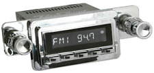 Retrosound Hermosa with Mustang 64-66 Bezel and Knobs Bluetooth AUX USB