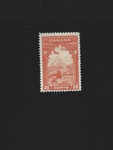 Canada 1927 Special Delivery 20c Orange #E3 MNH  Fine $50