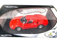 Large 1:18 scale Hotwheels Ferrari 250 LM Classic Sports Car Ferrari Model Car