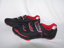 Gavin Road Bike Cycling Shoes Black & Red 39 6.5