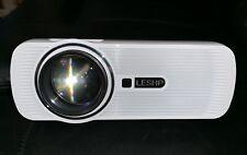 LESHP Mini LED Full HD Projector 7000 Lumens, White